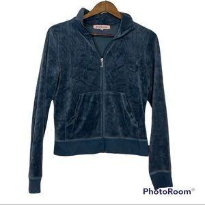 Y2K Juicy Couture Blue Velour Track Suit Sizes L/S